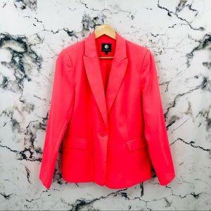 Jessica Hot Pink One Button Blazer